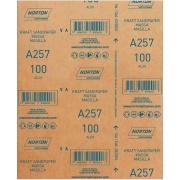 Lixa para Massa e Madeira Gr. 100 22,5cm x 27,5cm - Norton