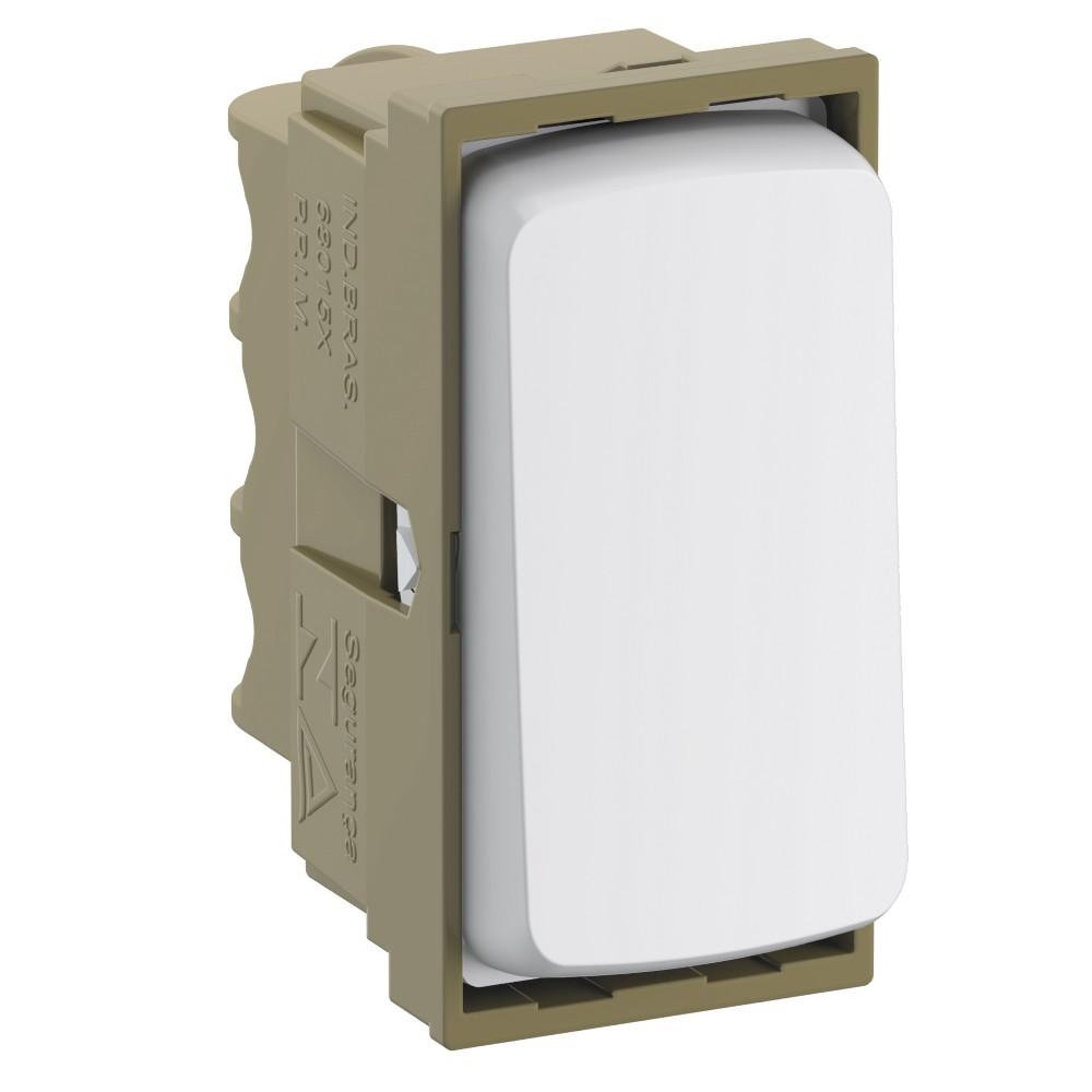 Modulo Interruptor Paralelo 1 Modulo 10A - Branco - Zeffia - Legrand
