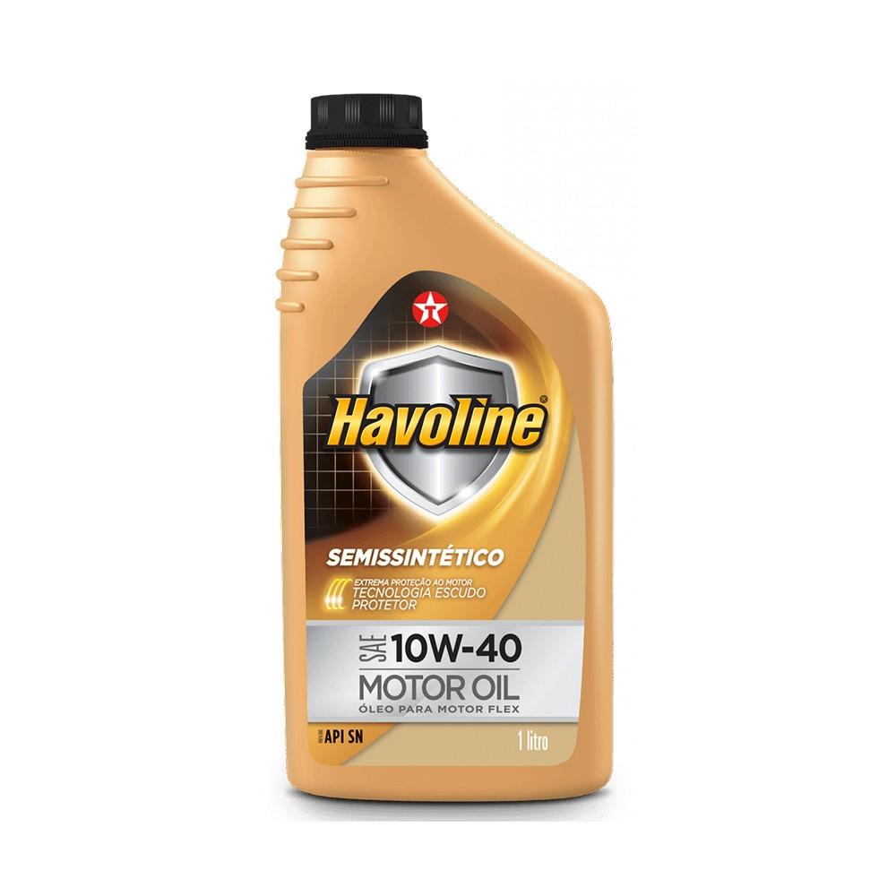 Oleo Lubrificante Havoline Semissintetico 10W40 1L - Texaco