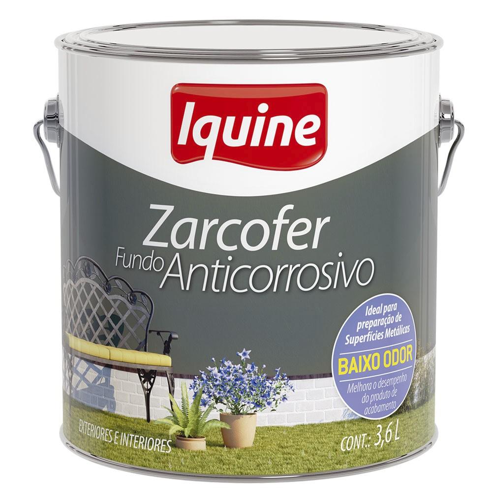 Fundo Zarcofer 36L Cinza - Iquine
