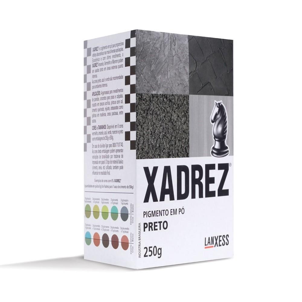 Pigmento Em Po Preto 250g - Xadrez