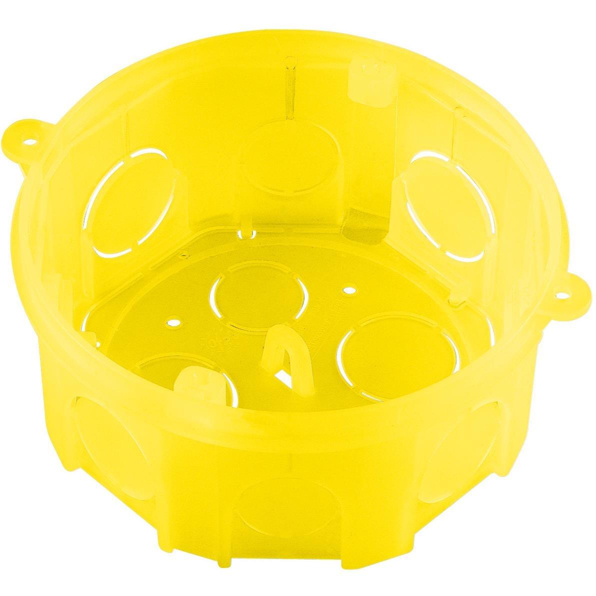 Caixa Eletrica de Plastico 4x4 Amarela Octogonal 57500004 - Tramontina
