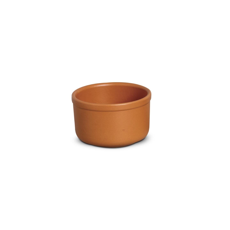 Tigela de Ceramica Redonda 400ml Tijolo - Nova Imagem