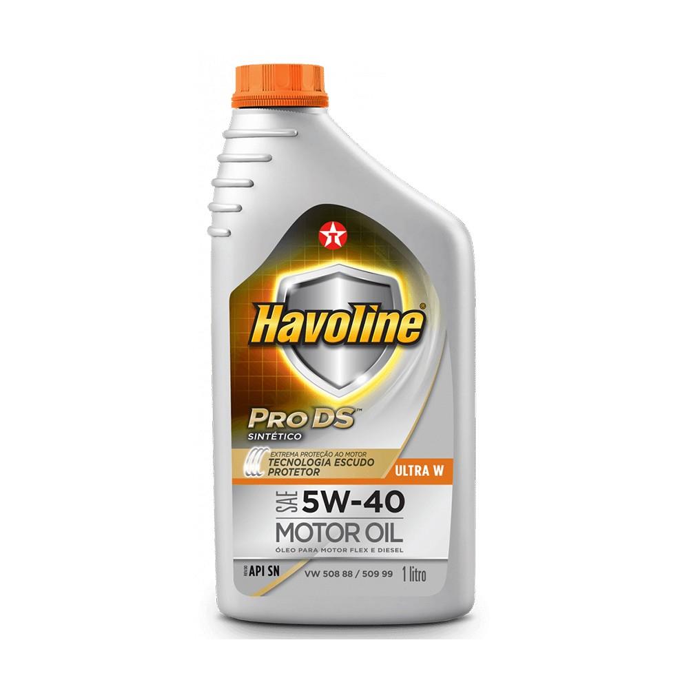 Oleo Lubrificante Havoline Ultra S Sintetico 5W40 1L - Texaco