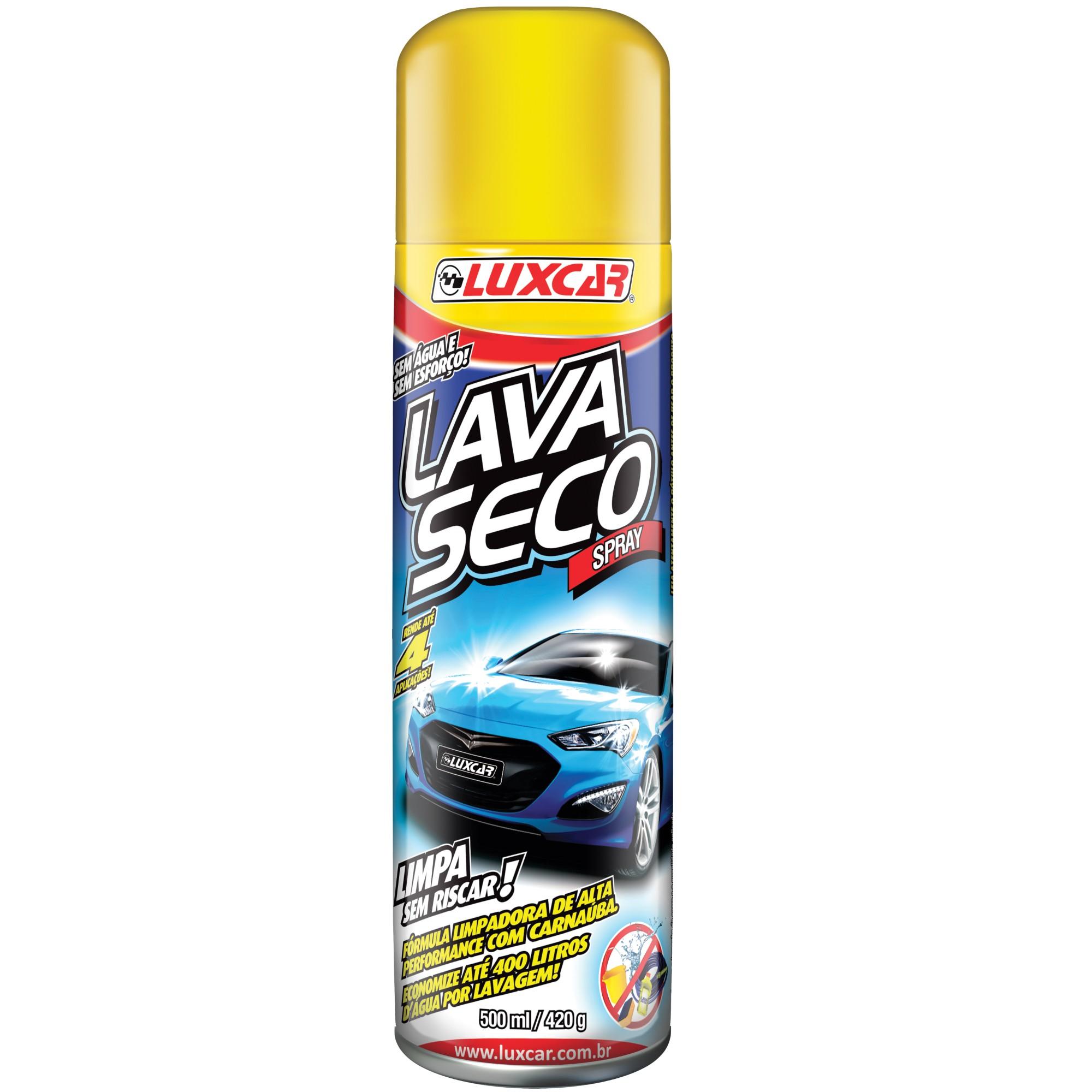 Spray de Lavagem a Seco 500 ml - 2595 - Luxcar