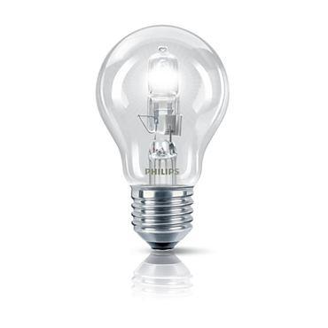 Lampada Halogena A55 70W Branca E27 127V - Philips