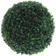Enfeite Bola Grama 17cm Verde
