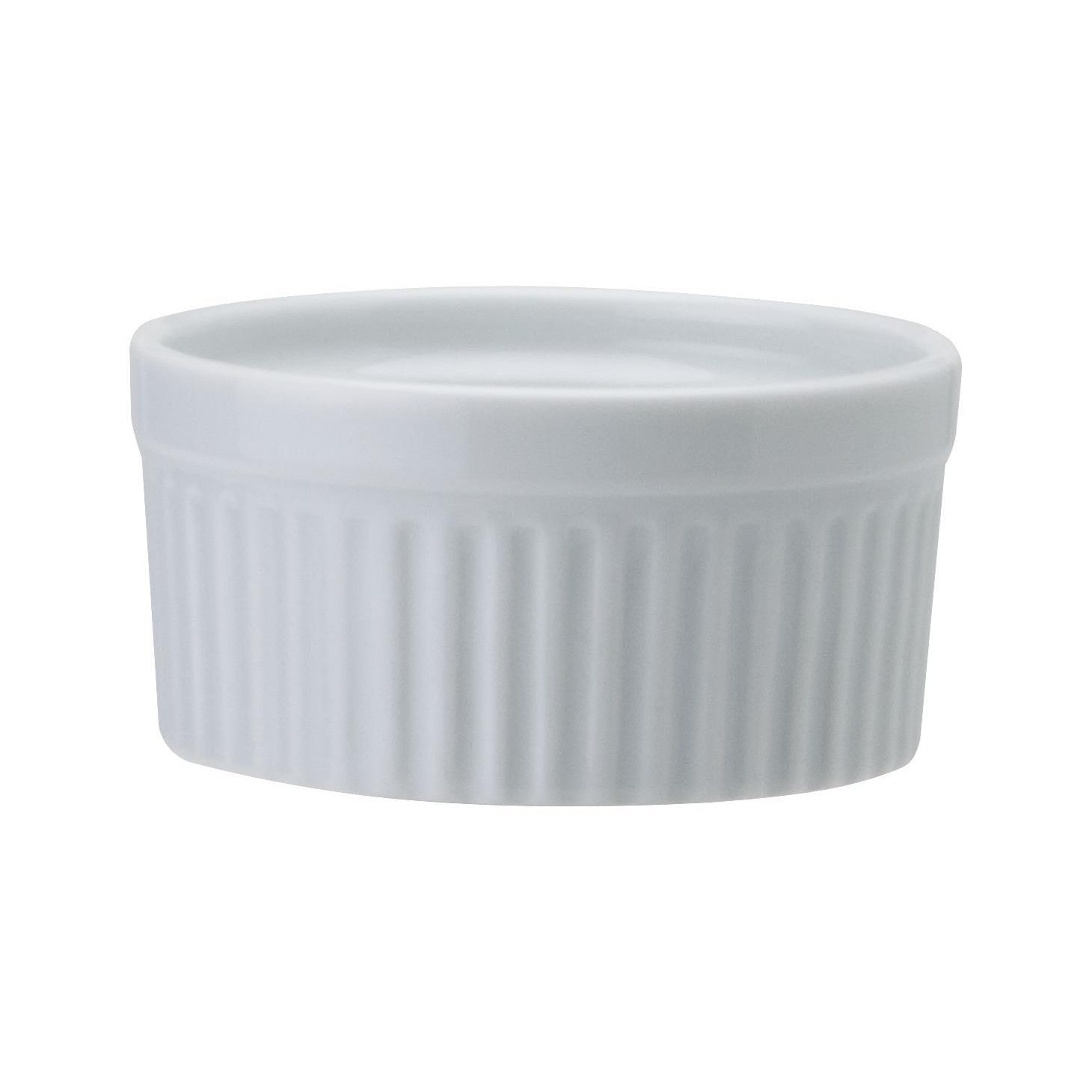 Ramequin de Porcelana Redondo 73 cm Branco - Schmidt