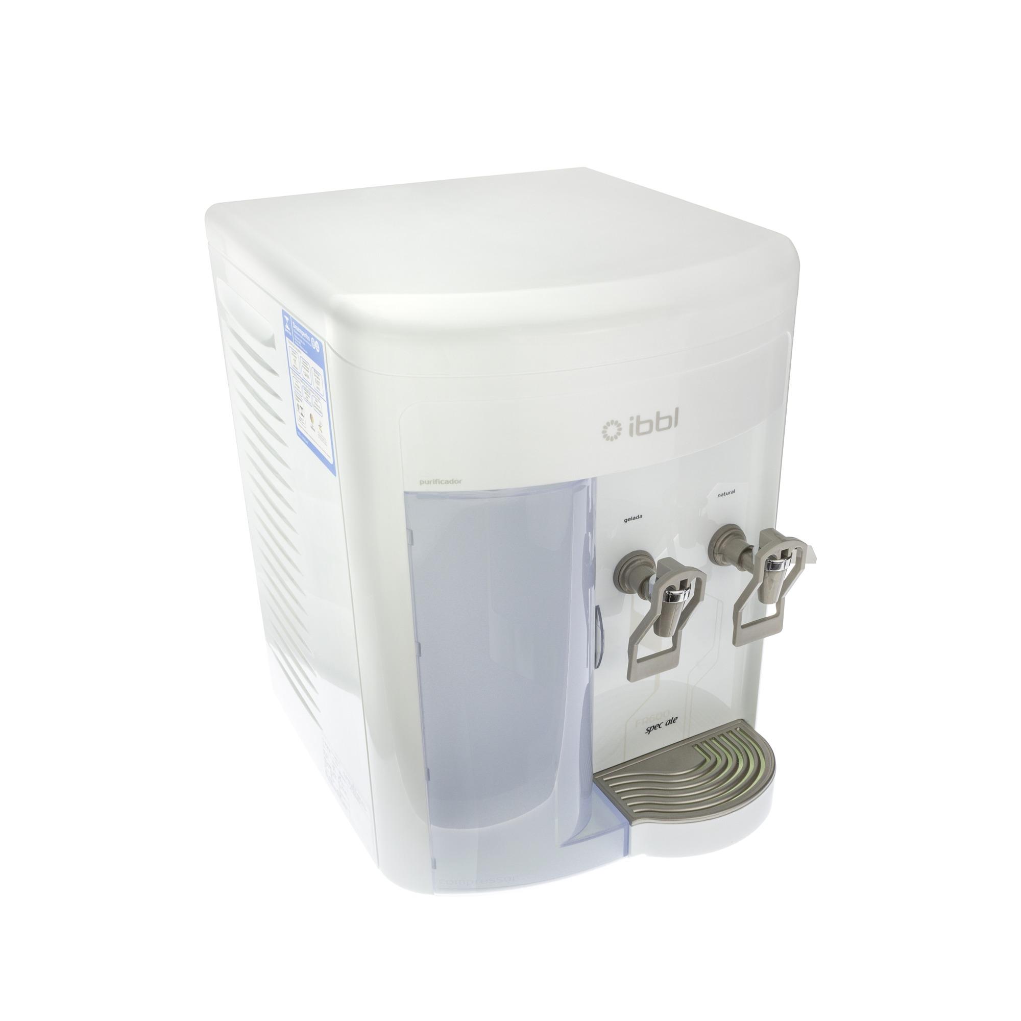 Purificador de Agua Gabinete Branco Speciale FR600 220V - Ibbl