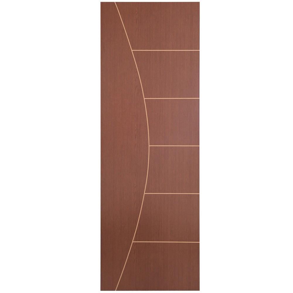 Porta de Madeira Frisada 70x210 cm Ipe F04 - Madelar
