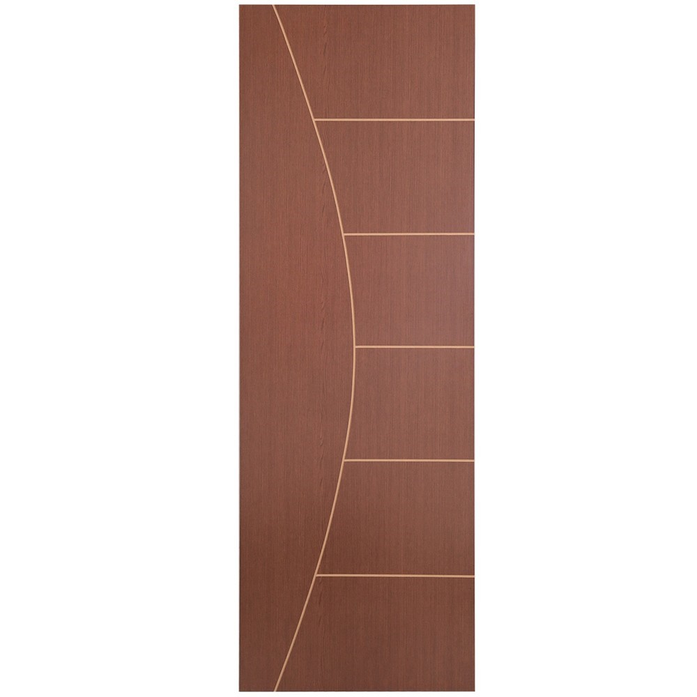 Porta de Madeira Frisada 80x210 cm Ipe F04 - Madelar