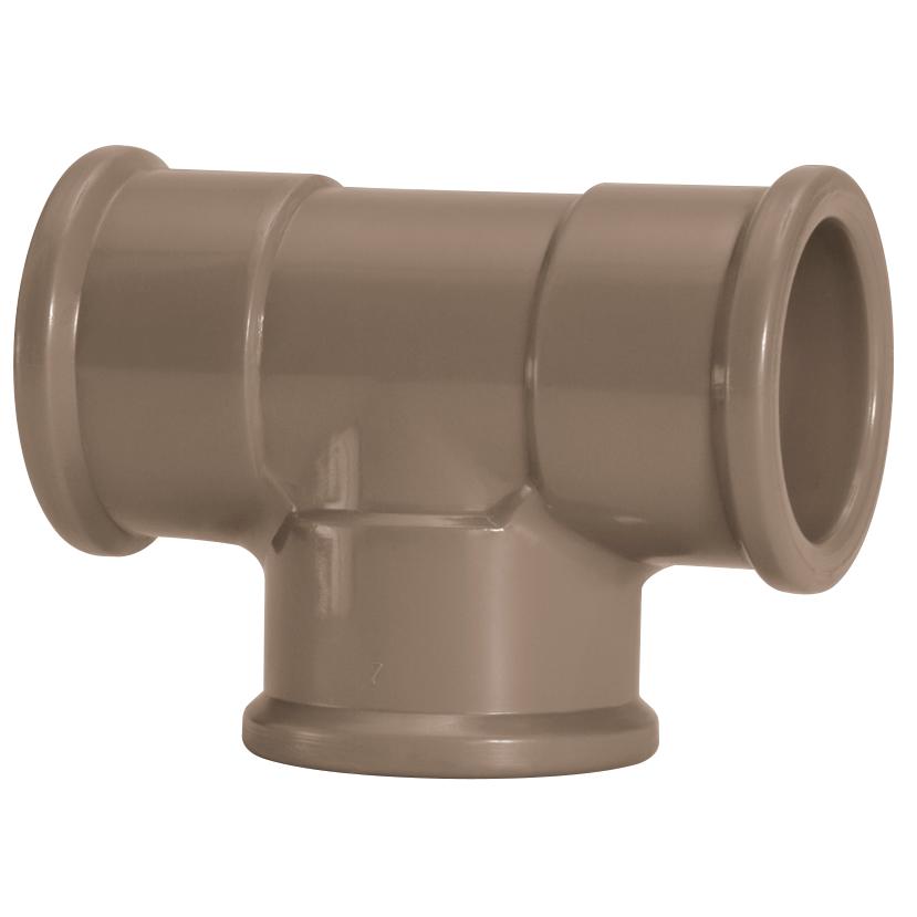 Te 90 Soldavel PVC Marrom 25 mm - Amanco