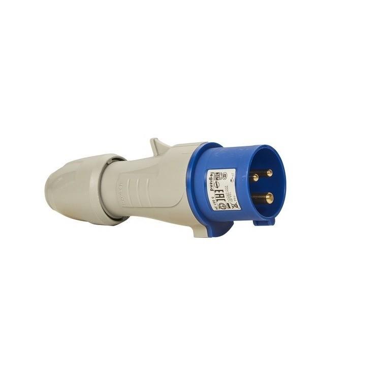 Plug Industrial P17 2PT 32A Tempra IP44 Monofasico 220250V - Cemar