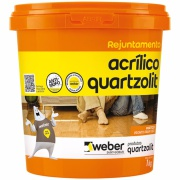 Rejunte Acrílico Marfim Balde/1kg - Quartzolit