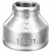 """Luva de Redução Galvanizado Roscável 1"""" x 1/2"""" - Tupy"""
