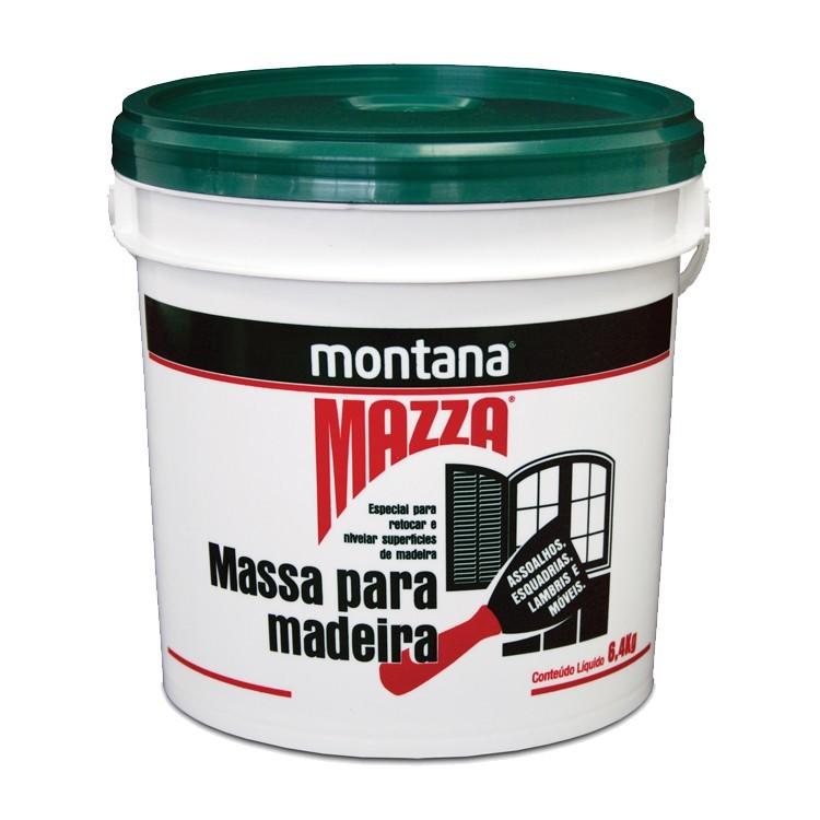 Massa Para Madeira Mazza - Ipe - Balde 6400Kg - Montana