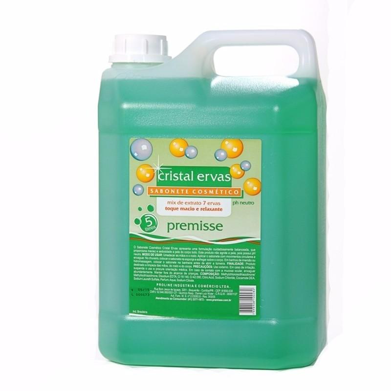 Sabonete Liquido Cristal Ervas 5L - Premisse