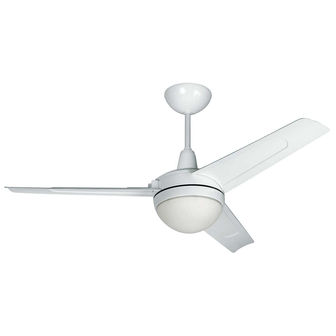 Ventilador de Teto Arno 3 Pas 1830004407 Branco 220V - 2 Lampadas 3 Velocidades