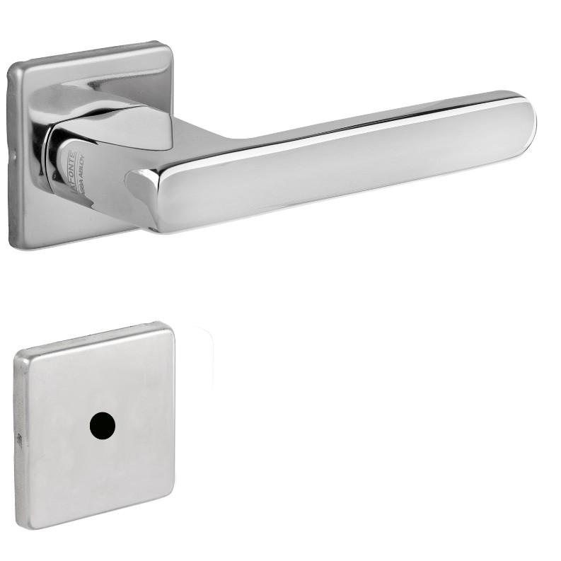 Fechadura WC Roseta e Macaneta Inox Polido M55 454 - Yale