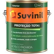 Tinta Acrílica Fosco Premium 3,6L - Branco Neve - Proteção Total Suvinil