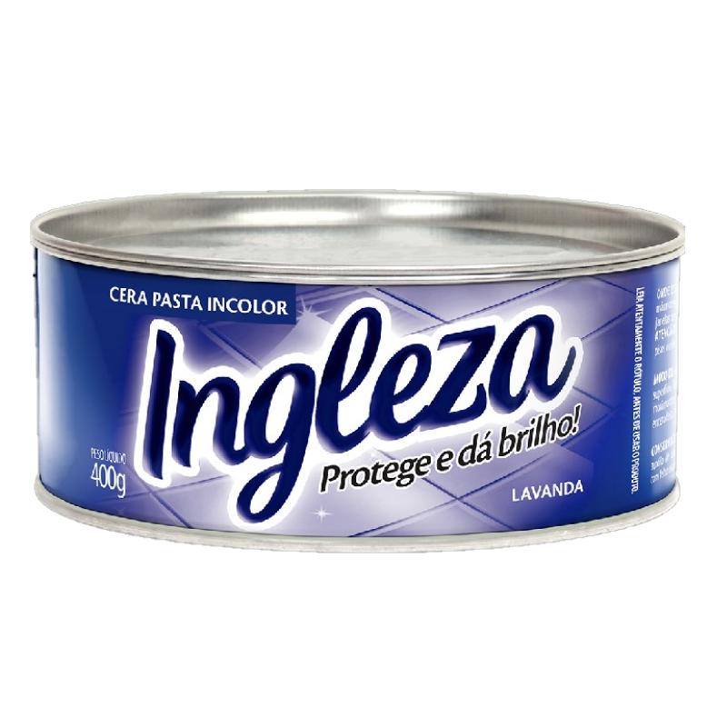 Cera Pasta Incolor 400g - Ingleza