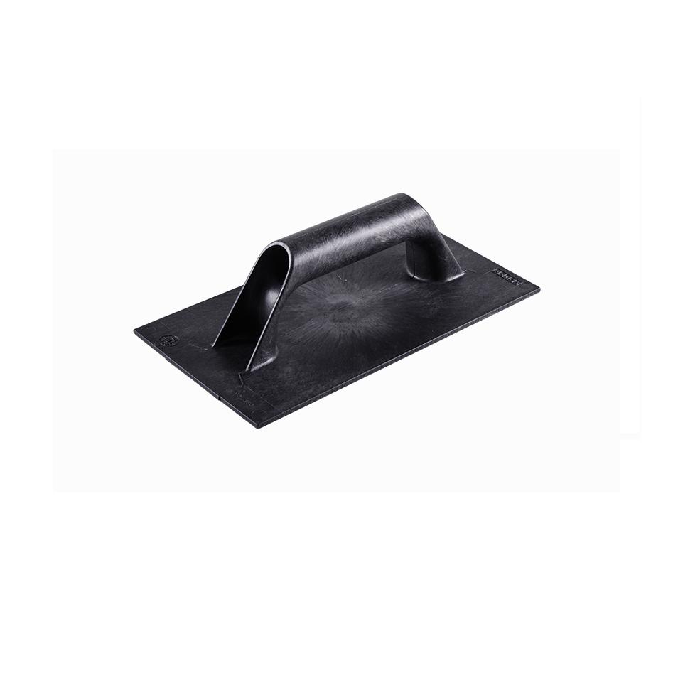 Desempenadeira Plastica Corrugada 17cm x 30cm Cabo Fechado de Poliestireno Preto - Astra