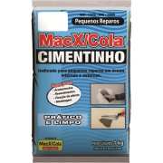 Cimento Cinza Saco 1kg - MacX/Cola