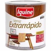 Verniz Extrarrápido Alto Brilho - Nogueira - 0,900L - Secagem Rápida Iquine