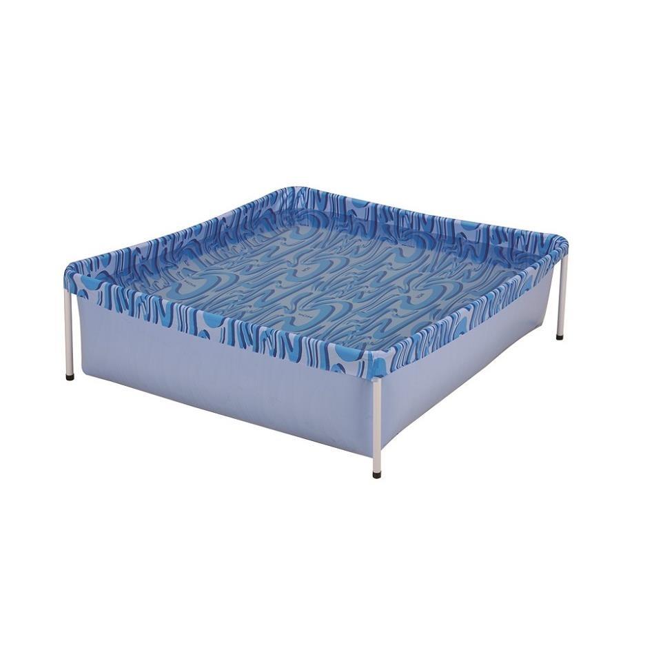 Piscina Montavel Infantil em PVC 400L Quadrada - Mor