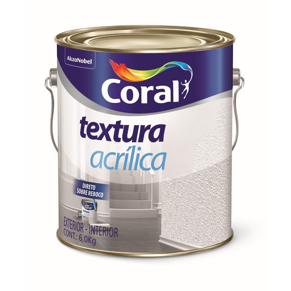 Textura Premium 60Kg - Branco Neve - Acrilica - Coral