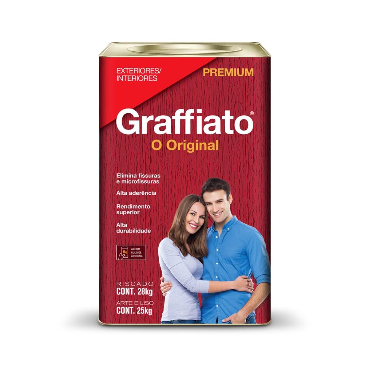 Textura Riscado Premium 280Kg - Marfim - Graffiato Hydronorth