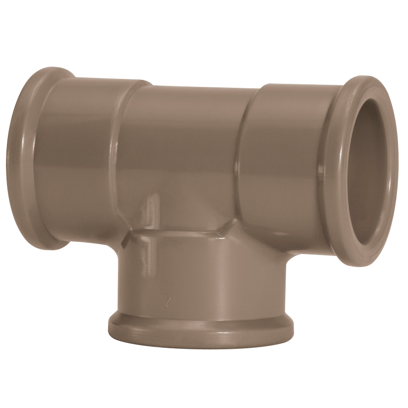 Te 90 Soldavel PVC Marrom 20 mm - Amanco