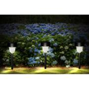 Balizador de Jardim Solar ABS LED Branco 8969 - Ecoforce