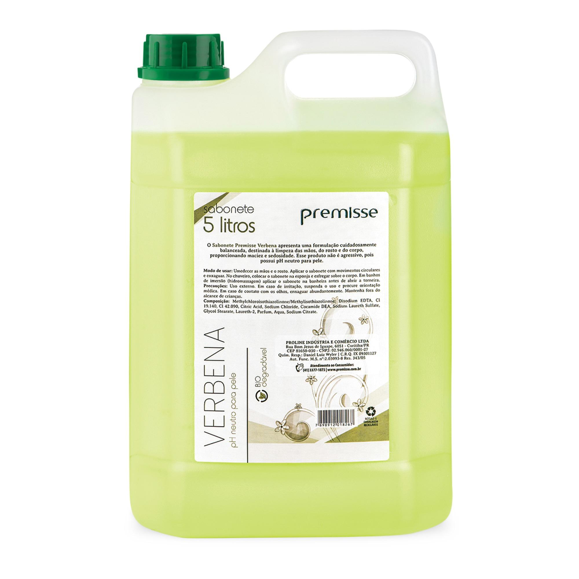 Sabonete Liquido Verbena 5L C10315 - Premisse