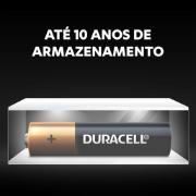 Pilha Alcalina Duracel AAA 1,5V 2 Unidades