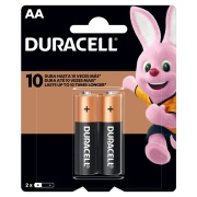 Pilha Alcalina Duracell AA 1,5V 2 Unidades
