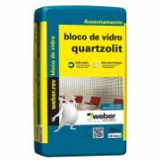 Argamassa Bloco Vidro 20kg - Quartzolit