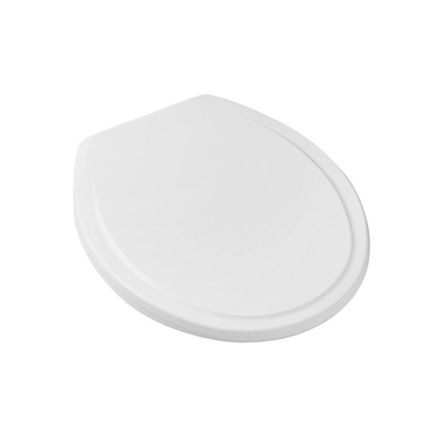 Assento Sanitario Redondo Polipropileno Eco Universal Branco - Celite