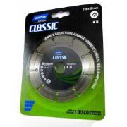 Disco de Corte Diamantado Segmentado Classic 110 x 20,00mm - Norton