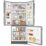 Geladeira/Refrigerador Brastemp Frost Free Side Inverse 540L Prata 220V - BRO80AKBNA