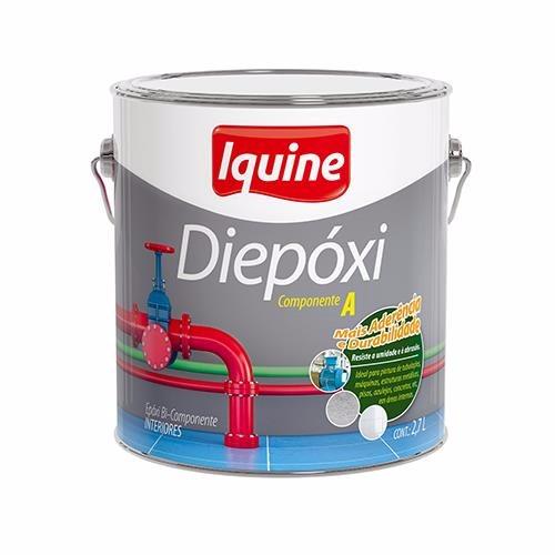 Tinta Epoxi Brilhante Premium 36L - Branco - Diepoxi Iquine