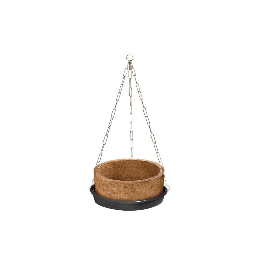 Vaso para Planta Suspenso 26x13 cm Palha - Nutriplan