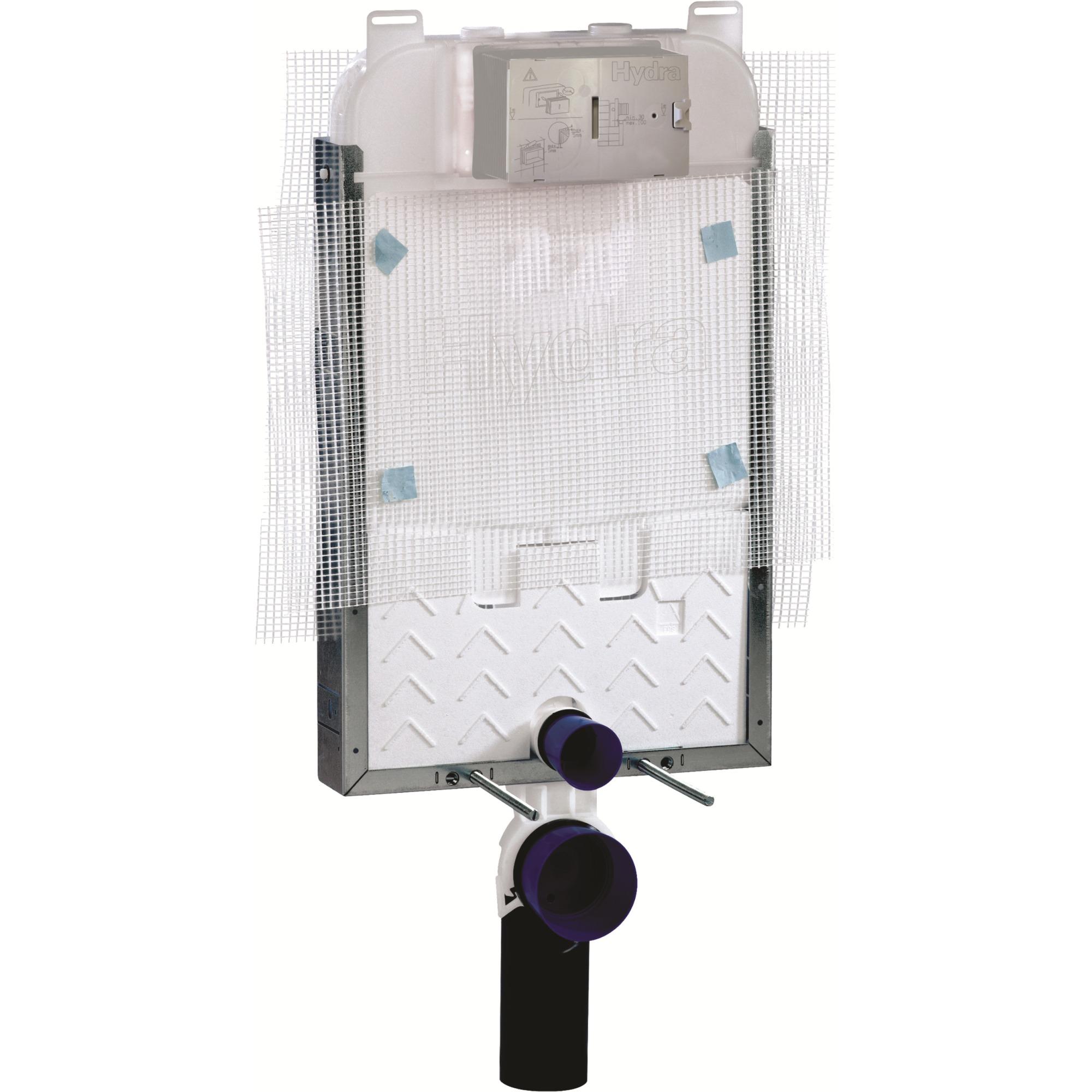 Caixa Embutida para Descarga de Bacia Suspensa 36L Hydra - Deca Metais