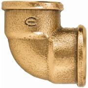 "Cotovelo 90° Bronze Roscável 3/4"" - Eluma"