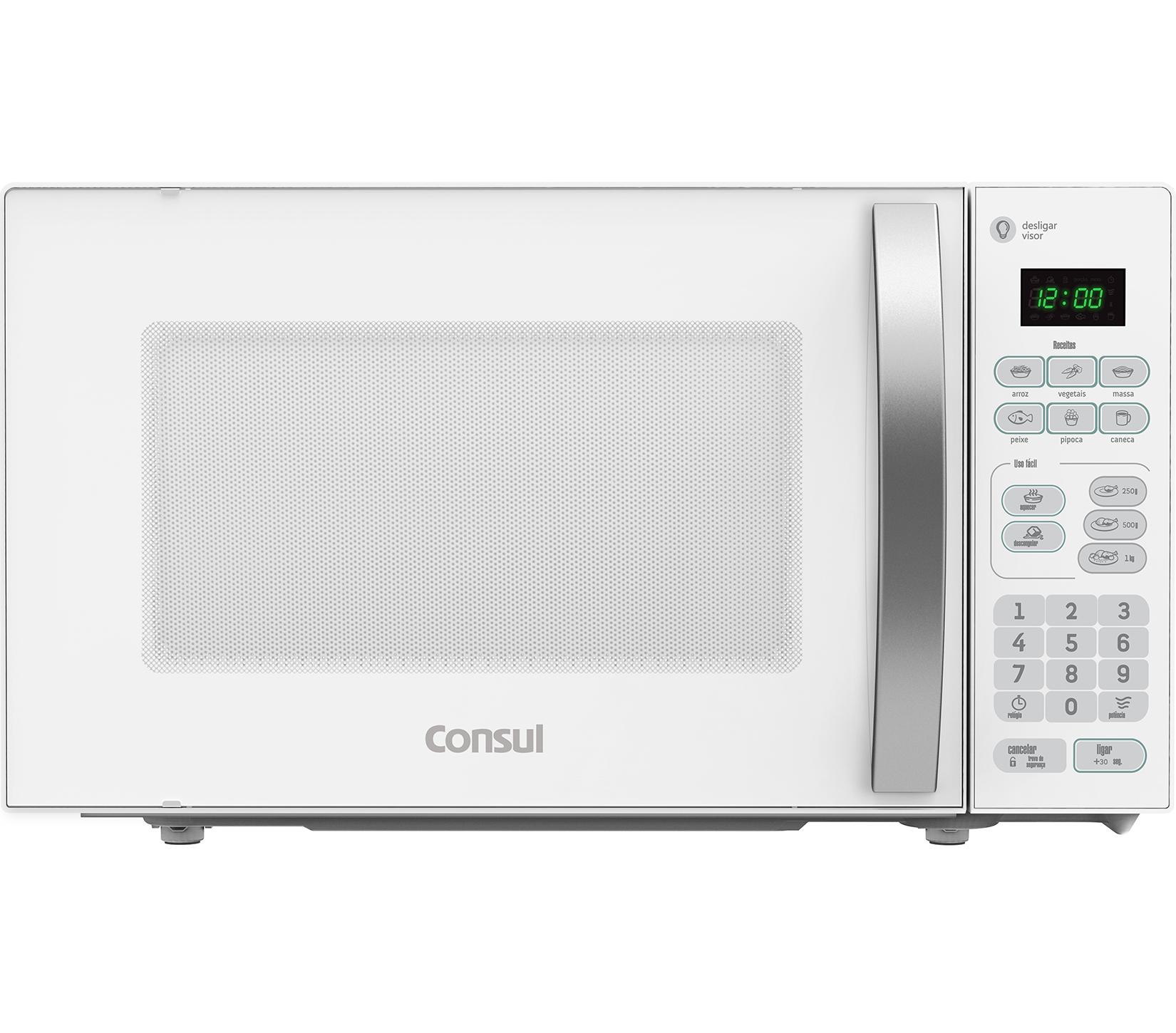 Micro-ondas Consul CMA20BBBNA Branco 220V - 20L Painel Touch