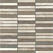 Piso Mosaico Padua Travertino 30,5x30,5cm - Incepa