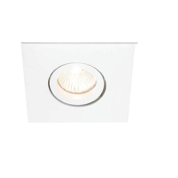 Spot Embutir Aluminio Dicroica Quadrado 50521 - Quality Iluminacao