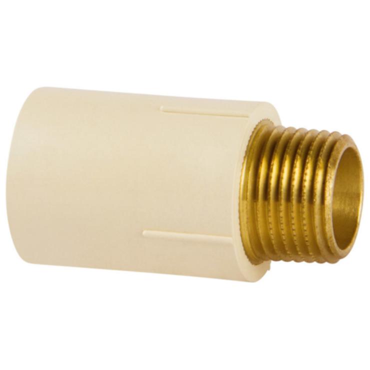 Conector de Transicao CPVC 15 mm x 12 MF - Amanco