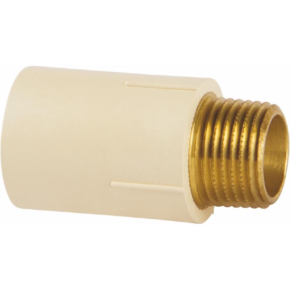 Conector de Transicao CPVC 22 mm x 12 MF - Amanco