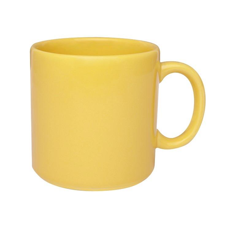 Caneca de Ceramica 360ml Amarelo - 023168 - Oxford